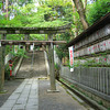 Near the Inner Gate.<br /> At Nagaoka Tenmangu Shrine.