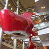 HEP FIVE Centre.<br /> A couple of whales at the HEP FIVE Shopping Centre. Reminded me of Hitch-hikers Guide to the Galaxy!