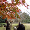 The Photo Workshop.<br /> We had a good turn out to the fourth photo workshop at the Kyoto Imperial Palace grounds.<br /> Photo by Ritsuko.