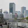 Along the banks of the Okawa.<br /> Near Temmabashi Station, Osaka.