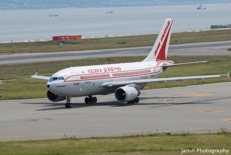 Air India.<br /> At Kansai Airport.