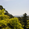 The View.<br /> As we approach the top of Kurama-yama, towards Kurama-dera.<br /> Note: Circular Polarising Filter Used.