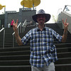 Me on the steps of Kyoto Station.<br /> Sorry if it's been a little slow going on the photos, been pretty busy, plus I've almost run out of things to post for the moment.