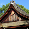Traditional Architecture.<br /> At Kamigamo Shrine.