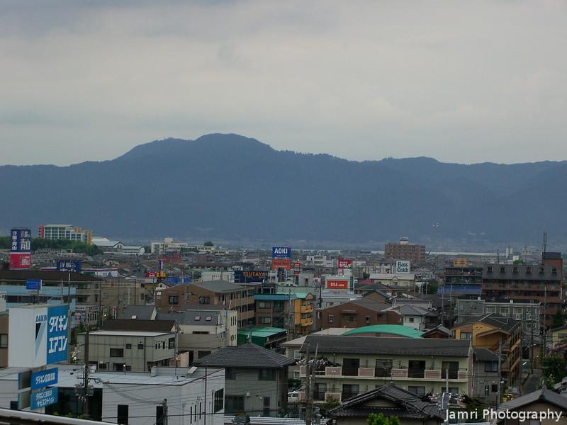 From the top of AL. Plaza.<br /> In Kusatsu, Shiga Prefecture.