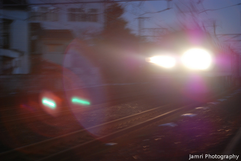 """Freight Train through my Brain. An abstract shot from and early morning out photographing <A href=""""http://jamri.smugmug.com/Trains/Trains/"""">trains</A>."""