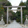 The view through the Gate.<br /> Kaiko-no-yashiro is a shrine containing a mysterious three legged torii. This three legged torii is connected to the Hata-clan, who some believe were early Christians possibly decendants of a lost tribe of Israel that came to Japan via the silk road. There is also a temple nearby that was build by the Hata-clan, we visited that later in the day.