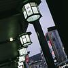 Lanterns.<br /> Along a large veranda on the main street in Gion.<br /> Nikon F80 + Nikkor AF 50 f/1.8 + Fujicolor PRO400