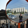 A Wide View SP.<br /> Using a convex mirror to give a wide view.
