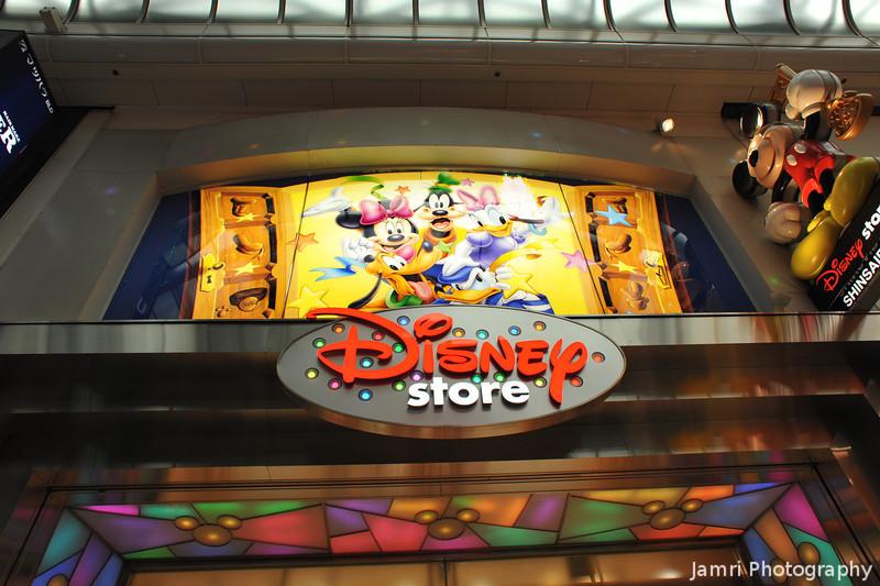 Disney Store.<br /> Shinsaibashi, Osaka.