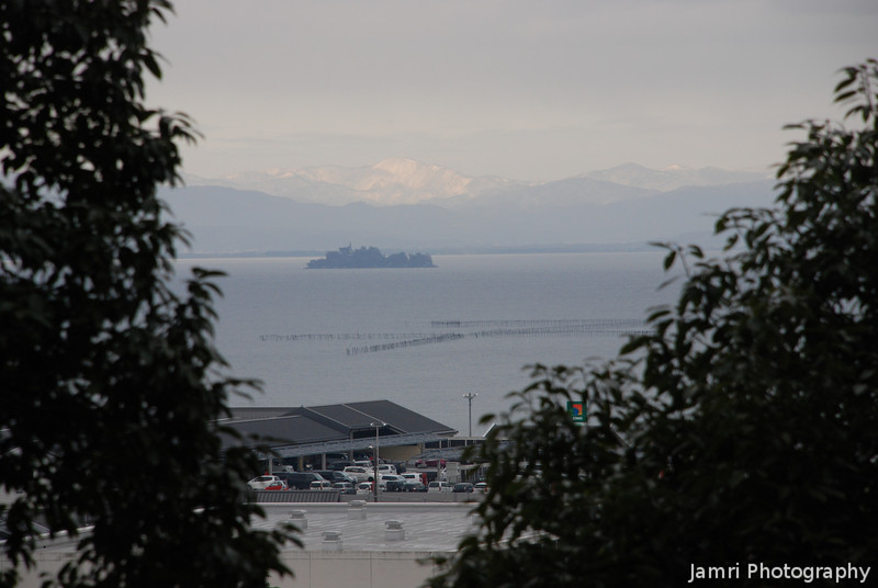 Towards a Little Island.<br /> Another view out across Biwa-ko (Lake Biwa).