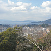 View towards the sea.<br /> From Matsuyama Castle.