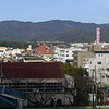 View to the West, from Bambio<br /> The little orange sign on the mid left is for the shopping centre Izumiya.