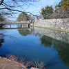 The Castle Moat.<br /> At Hikone, Shiga Prefecture.