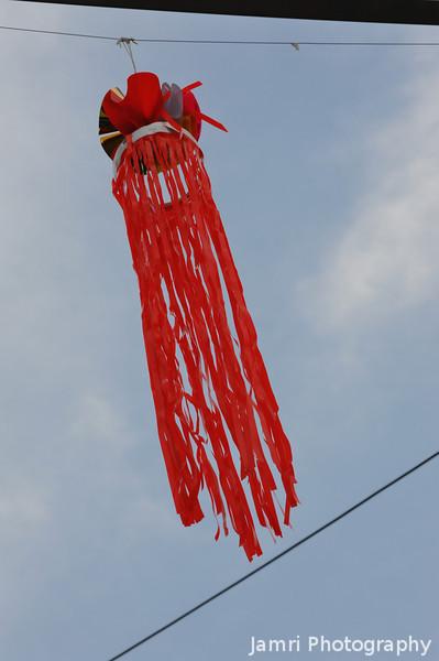 "Like a Jelly Fish. A <A href=""http://en.wikipedia.org/wiki/Tanabata"">Tanabata Festival</A> decoration."