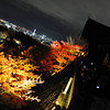 The view towards the Kyoto Tower.