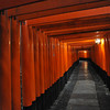 The Torii Tunnel Continues.<br /> At Fushimi Inari-Taisha.