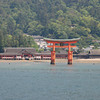 Floating Shrine.<br /> The famous floating shrine (know as Itsukushima shine) at Miyajima in Hiroshima prefecture.