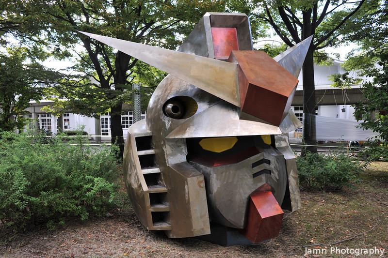 Anime Head.<br /> At Osaka Seikei University (Nagaokakyo Campus).