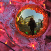A Christmas Decoration Self Portrait.