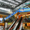 Inside New Chitose Airport Terminal.