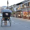 Rickshaw Departing.