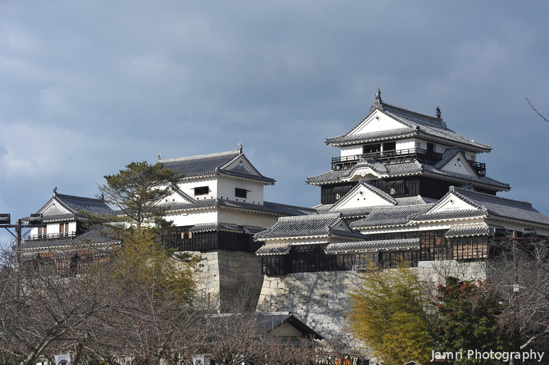 The Main Buildings of Matsuyama Castle.