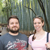 Nathan and Tess in the Bamboo Forest.<br /> Arashiyama, Kyoto.