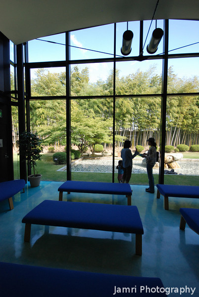 The Waiting Room.<br /> We just missed out on an earlier tour, so after it left for a brief moment there wasn't many people in the waiting room as we waited for the next tour.