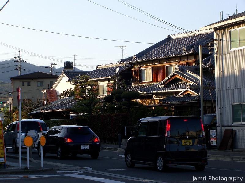 Late Afternoon on Suntory Street.