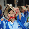 Dancing Lady in Blue.