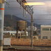 Golden Light in Tsuruga.<br /> Taken from the train window on our way home.