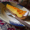 Mango Cheese Cake.<br /> This one of the few times I've had non-baked cheese cake in Japan,  so it was almost like the cheese cakes I enjoyed back in Aus. However the base was a little different than the crushed Granita Biscuits that was so common in Aus. I ate this during our 3 years in Japan celebratory morning tea at Cafe Koba in Nagaokakyo.