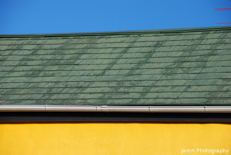 Blue, Green, Yellow.<br /> Another shot from my neighbourhood.