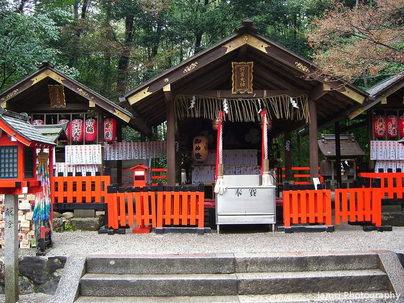 Nonomiya Shrine.<br /> In Arashiyama, Kyoto.
