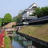 Towards the Main Keep.<br /> At Shoryuji Castle in Nagaokakyo.