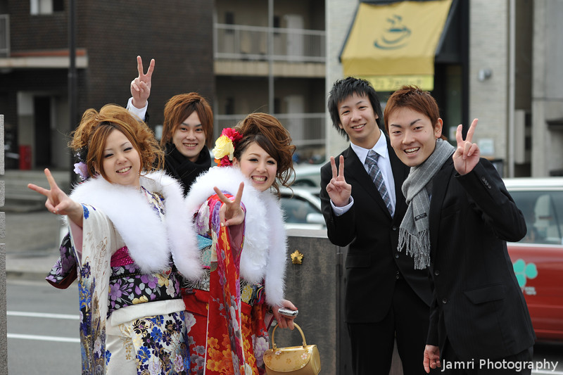 Peace!<br /> A very cute group.