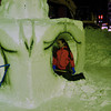 Behind the Scenes.<br /> Snow Sculpting.