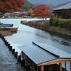 At the Dock.<br /> In Arashiyama, Kyoto.
