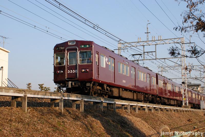 Hankyu Train 3330.