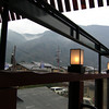 The View from the Cafe.<br /> After walking around Arashiyama, Dave and I ate big ice creams at this cafe before heading home.