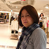 """Ritsuko outside the new Uniqlo.<br /> There's a new huge Uniqlo in Kyoto, which just happens to be in the new Yodobashi Camera building, so any time I want to check out the latest cameras, I just say to Ritsuko """"let's go to the big Uniqlo"""" and she says """"YES"""". Pretty smart thinking Yodobashi Camera!"""