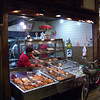 Fish Cake Shop.<br /> In the Nishiki Markets, Kyoto.