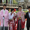 Twenty Year Olds at a Temple.<br /> On Coming of Age Day 2012.