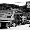 A Street at the Foothills.<br /> In Arashiyama, Kyoto.<br /> Note Film Shot: Nikon F80 + 50f/1.8 + Orange Filter + Fujifilm Neopan Acros