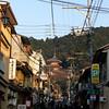 Towards Kiyomizu-dera.<br /> We took Dave up to see Kiyomizu-dera (Kiyomizu Temple) before his departure to Tokyo.