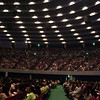 Inside Osaka-jo Hall.<br /> At the start of the evening meeting of the Franklin Graham Festival.