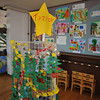 The Christmas Tree Christmas Tree.<br /> A big Christmas Tree made up of little ones.<br /> At the 50th Annual Kaigaten (Art Exhibition) at Megumi Kindergarten.