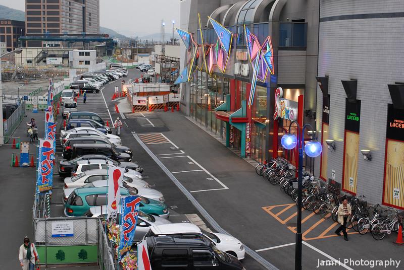 The Car Park of Lucero.<br /> In Takatsuki, Osaka-fu.