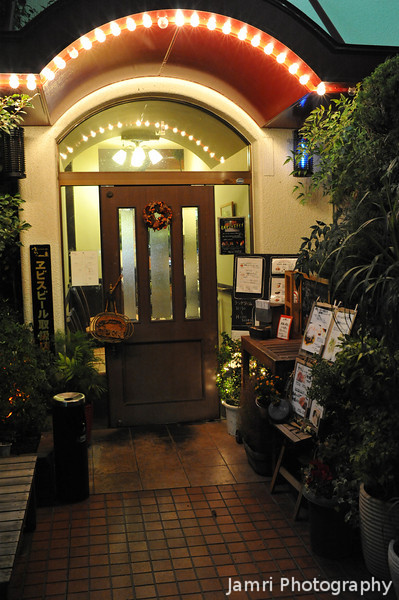 """It's Akira.<br /> Akira restaurant is a nice place which serves steaks and Japanese style """"hamburg"""" in Nagaokakyo."""